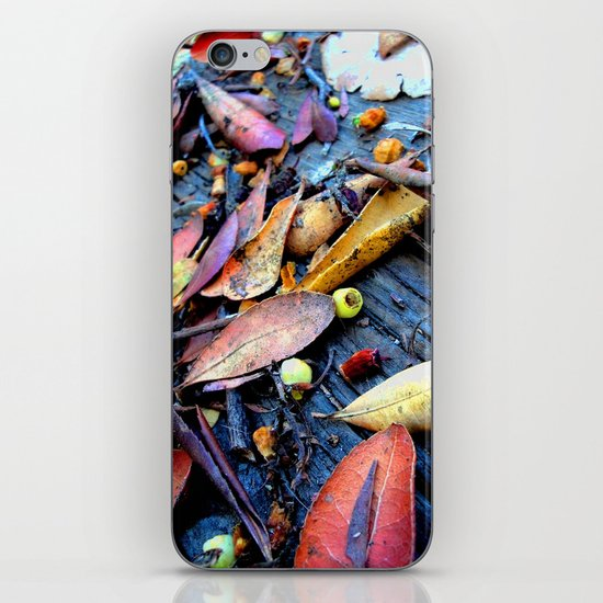 Leaves of a Strawberry Tree iPhone & iPod Skin