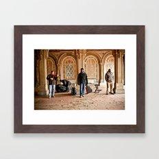 Central Park Singers Framed Art Print