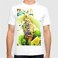 Lunch Mens Fitted Tee White SMALL