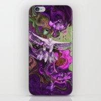 Freedom Purple iPhone & iPod Skin