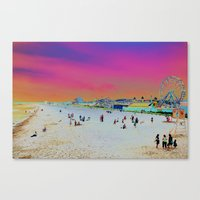 Old Orchard Beach, Maine… Canvas Print