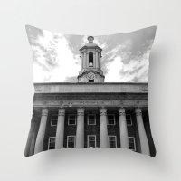 Penn State Old Main #1 Throw Pillow