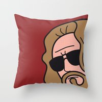 Pop Icon - The Dude Throw Pillow