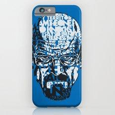 Heisenberg Quotes Slim Case iPhone 6s