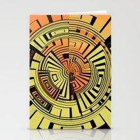 Futuristic Technology Ab… Stationery Cards