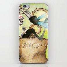 Potatoes iPhone & iPod Skin