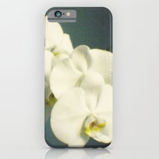 White orchids Slim Case iPhone 6s