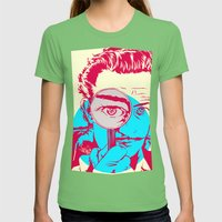 Dali   Womens Fitted Tee Grass SMALL