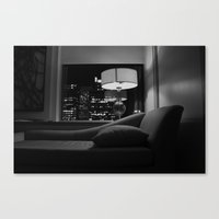 The City Behind Me Canvas Print