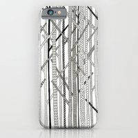Pattern Trees iPhone 6 Slim Case