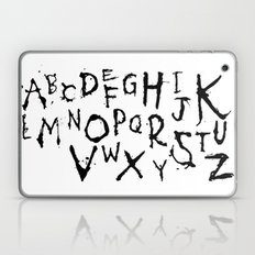 Alphabet #1 Laptop & iPad Skin