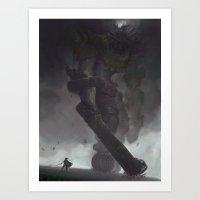 The Third Colossus Art Print