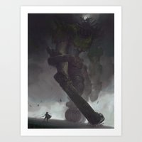 the Third Colossus Art Print