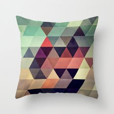 tryypyzoyd Throw Pillow