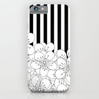 iPhone & iPod Case featuring Cherry Blossom Stripes - In Memory of Mackenzie by Project M