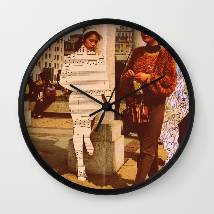 im lost without you wall clock by lydia coventry society6