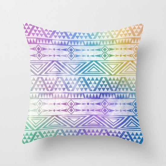 Tribal Voice Throw Pillow