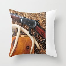 Winchester Model 92 Throw Pillow
