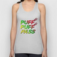 Puff Puff Pass Unisex Tank Top