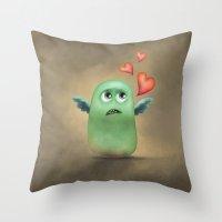 Hey Sweety Throw Pillow