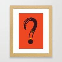 Curiosity Exploded The C… Framed Art Print