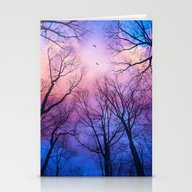 Stationery Cards featuring A New Day Will Dawn  (Da… by Soaring Anchor Desig…