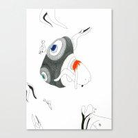 VACANCY Zine - The Great Passive Cosmic Birth Canvas Print