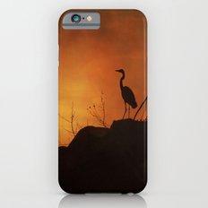 Night silhouette iPhone 6 Slim Case