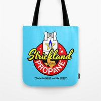 Strickland Propane  |  Arlen Texas Tote Bag