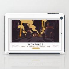 Ironforge Classic Rail Poster iPad Case