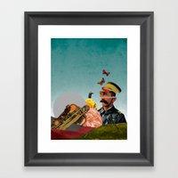 Sgt.  Framed Art Print