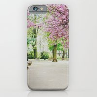 french cherry blossom iPhone 6 Slim Case