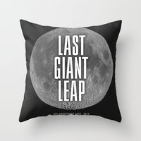 Last Giant Leap Throw Pillow