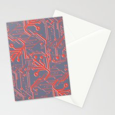1982 Red Stationery Cards