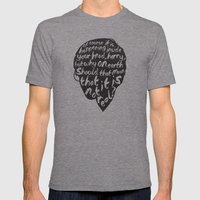 Inside Harrys Head Mens Fitted Tee Tri-Grey SMALL