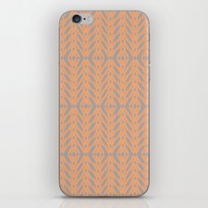 Peach and Gray Tribal Pattern iPhone & iPod Skin