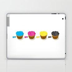 CMYK cupcakes Laptop & iPad Skin