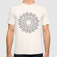 No-Face Mens Fitted Tee Natural SMALL
