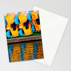 Paddle Boats Stationery Cards