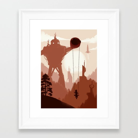 In the Year 2000... Framed Art Print