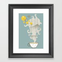 Relax! Framed Art Print