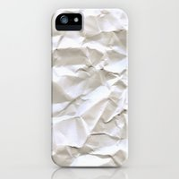 iPhone 5s & iPhone 5 Cases featuring White Trash by pixel404