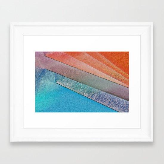 Morning Colors Framed Art Print