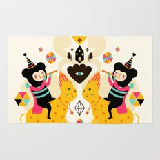 Music is happiness Rug