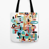 Mid Century One Tote Bag