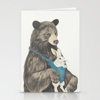 The Bear Au Pair Stationery Cards