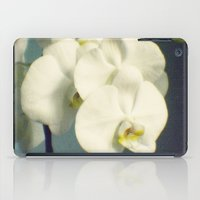 White orchids iPad Case