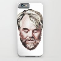 iPhone & iPod Case featuring Philip Seymour Hoffman Portrait by Antoine Dutilh