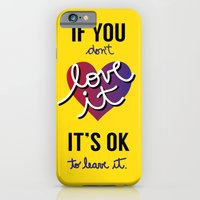 If you don't love it… A PSA for stressed creatives. iPhone 6 Slim Case