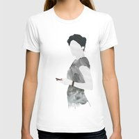 Irene Womens Fitted Tee White SMALL